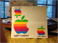 Apple Decals Colorful 3