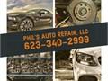 Phils Auto Repair is a full service MOBILE auto repair shop serving all of Mari