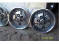 Four MK 1 Rally wheel covers  Orig Ford 14