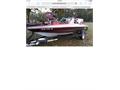 1997 18ft Stratos fishski boat trailer  150 Johnson motor Serviced in December 2018 3 new batt