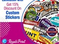 Get quality custom stickers with 15 discount for returning customers Thousands of people trust us