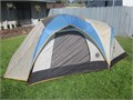 Hillary 3-4 man dome tent 7 x 10 x 54 tall  GREAT CONDITION easy one man set up complete with