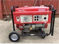 Generator- big powerful PowerPro 5500w  Only 24 hours of use  Runs long on 65 gallon tank706-