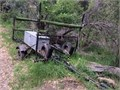 Custom Motorcycle 3 Rail Trailer with storage box Can also handle wind surfer  35000 Text 310-