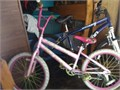 Girls 20 bike Pink with white tires 2000 obo 909-656-9936