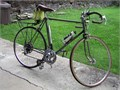 ROAD BIKE 27 10sp 23 frame for 6ft or more rider lugged frameWeinman brakestoe clips and stra