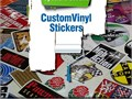 Add the gift items with an impressive look through pleasantly designed vinyl stickers printing from