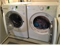 LG Washer  Dryer LG White Model WM2140CW regular machine sizes washer is approx 28-12 inches i