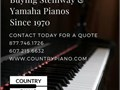 Piano Sales and Restoration Specialist looking to buy Steinway and Yamaho Painos I will send quotes