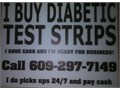 Cash for Diabetic Test Strips I come to you and pick up So u never have to mai