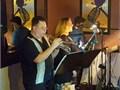 I have a small trio that encompasses jazz swing bebop latin bossa novas sambas lite pop and eas