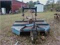 3 point hitch rotary cutter KingKutter 5 ft and Cat 1 Quick Hitch Northern Tool 60000 803-663-
