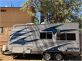 2011 165 ft sandstorm toy hauler tow behind  Great condition  Generator heating AC Full bathro