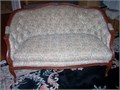 LOVESEAT  HARDWOOD FRAME MADE IN EUROPE HAS EXPENSIVE FABRIC NO TEXTING PLEASE CALL 818-710-604