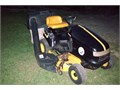 Simplicity Lawn Tractor   Rare Black And Gold Steelers Collector Edition  38 Cutting Deck With