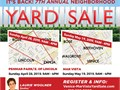 Huge Yard Sale 35 HomesSunday 428 9am-4pmHosted by local Real Estate agent Laurie Wool