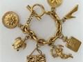 Channel Design Craftsmanship  Materials  a Vintage Gold Plated Costume BRACELETAuthentic Vin