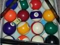 NEAR NEW POOL BALLS  RACKFIRST 25 TAKES