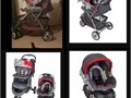 Asking for 125 for the carset  stroller  weight limit 30 pounds  height 30in  I used the