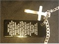 The Fathers Prayer With Cross  Chain New