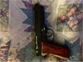 Pistol 9mm Excellent condition made 1979  Beretta 92 f old school style custom wood  Italian versi