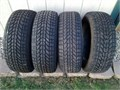 set of 4 Firestone Winter Force tires size 22560R16 used for one season like new condition