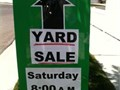 This Saturday from 8 AM - 2 PM many families participating in a yard sale at 5705 Packard Street L