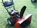 Yard Machine snow blower 2 stage 10hp 28 electric start Fair condition Needs a tune up