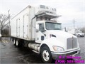 2011 Kenworth Tandem 24 ft Refrigerated Straight TruckCummins Diesel  300 HPFuller RT-8709B
