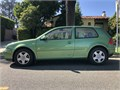 Fully operational well maintained classic 1999 5 speed VW GTI green machine w leather seats Low
