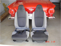 Bucket seats excellent shape self contained 2 point seat belts 20000 805-422-8864