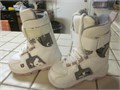 BURTON Kids Freestyle Snowboard Boots  size 13C MINT condition used once Sell 45 call 714-469-1