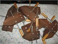 Hand screw Clamps Walnut Wood 2-14 2-12 2-10 and 2-8 excellent condition Asking 5000
