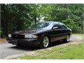 1996 Chevrolet Impala SS Used 83882 miles Private Party Sedan 8 Cyl Burgundy Black Excellent