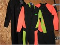 Surf  Dive Suits Never used- new Name brand Also be used for diving Easy Zippered wear Good vi