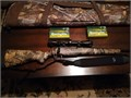 new Mossberg 3006 hunting rifle w synthetic stock3-9x40 scopeslingrecoil padcaseand 2boxes of
