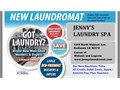 Jennys laundry spa Redlands  Mentone Now open with Brand New Large Capacity Washers and Dryers O