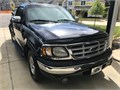 1999 Ford F-150 King cab step side 54L V8 AT Dark Blue 238000 original miles 1 owner complete
