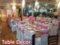 Event Chair Covers  Table Cloths  Decor rental services Table cloths 7 Chair covers 1