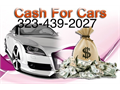 CASH FOR JUNK Cars Trucks VansLet us help you with your junk vehicleGet a free quote Today