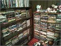 DVDs 2 ea wo cases 1eavcr tapes wo cases 25 ea with cases 31very many to choose