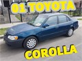 2001 BLUE TOYOTA COROLLANO LEAKSNO ENGINE OR TRANSMISSION PROBLEMSCURRENT REGISTRATIONCL