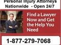 Chicago Personal Injury Attorneys1-877-279-7068