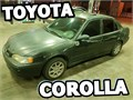 2000 TOYOTA COROLLA CURRENT REGISTRATION CLEAN TITLE MILEAGE 215000RUNS GOOD STRONG ENGIN