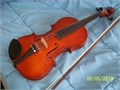 Selling used violin almost new used a couple of times only No scratches nice color Case is incl