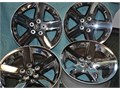 4 - 20 inch chrome wheels from a 2010 Dodge Ram 1500 SLT Big Horn 20 inch X 9 inch chrome clad The