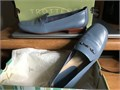 Shoes Ladies Trotters 9 12 Med Robin Blue LN 4500 803-443-8970