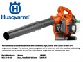 NEW HUSQVARNA BLOWER--MODEL 125B Husqvarna Item 952 71 19-25 952711925 13808 including tax