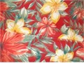 Arden Selections Ruby Clarissa Tropical outdoor fabric  4 Yards - 54 widePolyester  UV Protecti