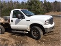 2006 Runs strong 90k 8 ft Fisher winch flatbed well maintained good tires 54L XLT some rus